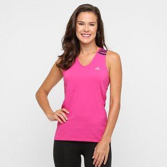 55e3c61997 Camiseta Regata Adidas 3S com Proteção Solar UPF 50