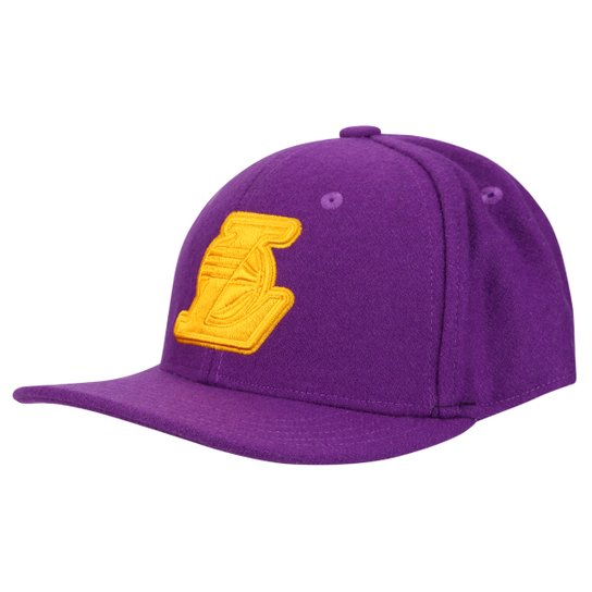 Boné Adidas Originals NBA SBC Lakers - Compre Agora  5db2633e52a