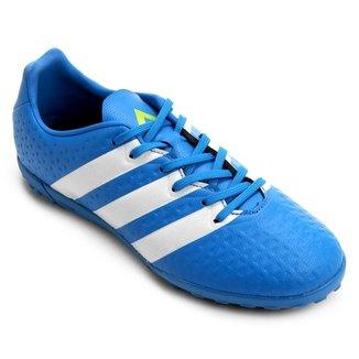 Chuteira Adidas Ace 16.4 TF Society Juvenil fbe0d9aef4f4c