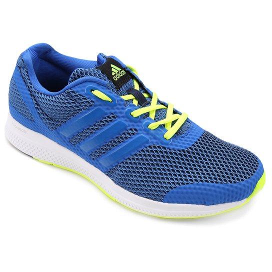 76c0ba6ed93ac Tênis Adidas Mana Bounce Masculino - Azul e Verde | Netshoes