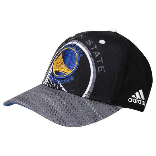 870313278e Boné Adidas NBA Golden State Warriors - Preto+Azul ...