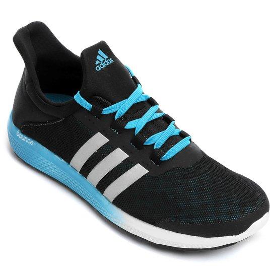 8546b9171a2 Tênis Adidas CC Sonic Bounce Masculino - Preto e Azul claro - Compre ...