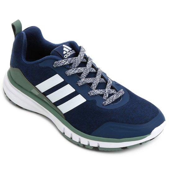 2030fe859 Tênis Adidas Skyfreeze Masculino - Marinho+Verde