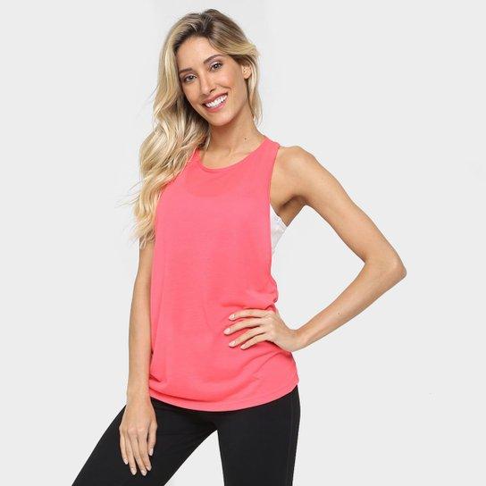 35995e0510 Camiseta Regata Adidas Performer Feminina - Rosa - Compre Agora ...
