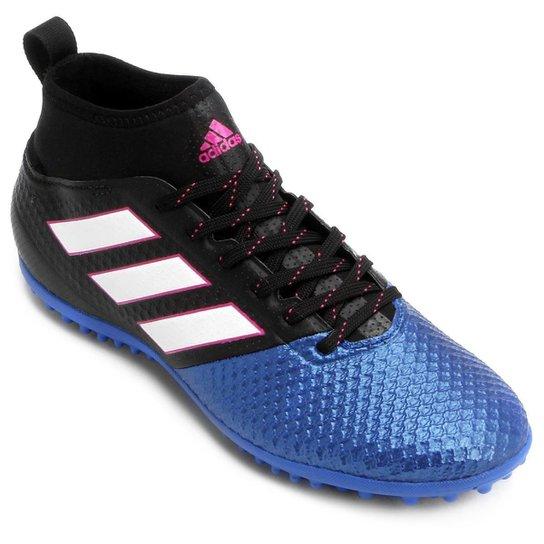 d3c0dc8271832 Chuteira Society Adidas Ace 17.3 TF - Preto+Azul