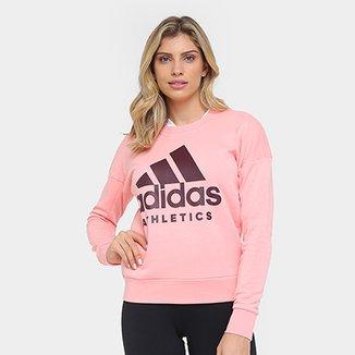 4a8a0328b4a Moletom Adidas Branded Crew