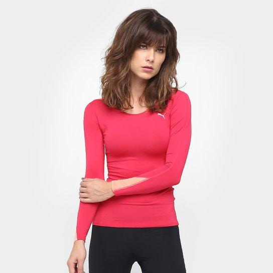 de40ebc0cd Camiseta Puma Lycra Lite Tee Manga Longa Feminina - Compre Agora ...