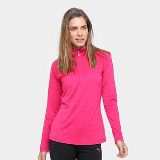 cc1d8b9b49 Blusa Puma Core-Run L S HZ Top Feminina