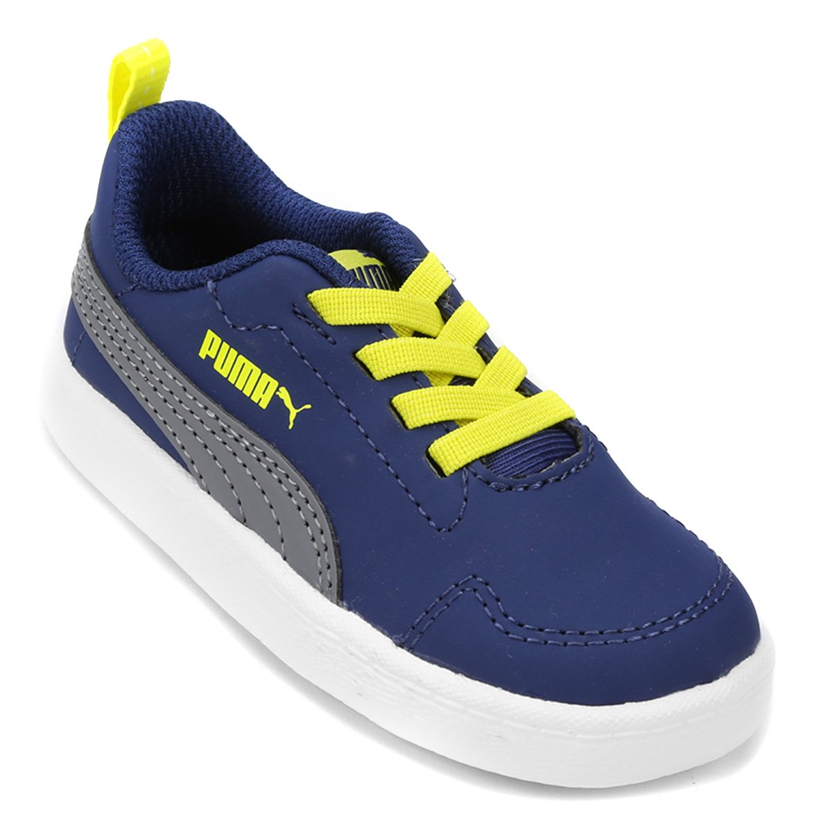 84be921f62b 60%OFF Tênis Infantil Puma Courtflex I