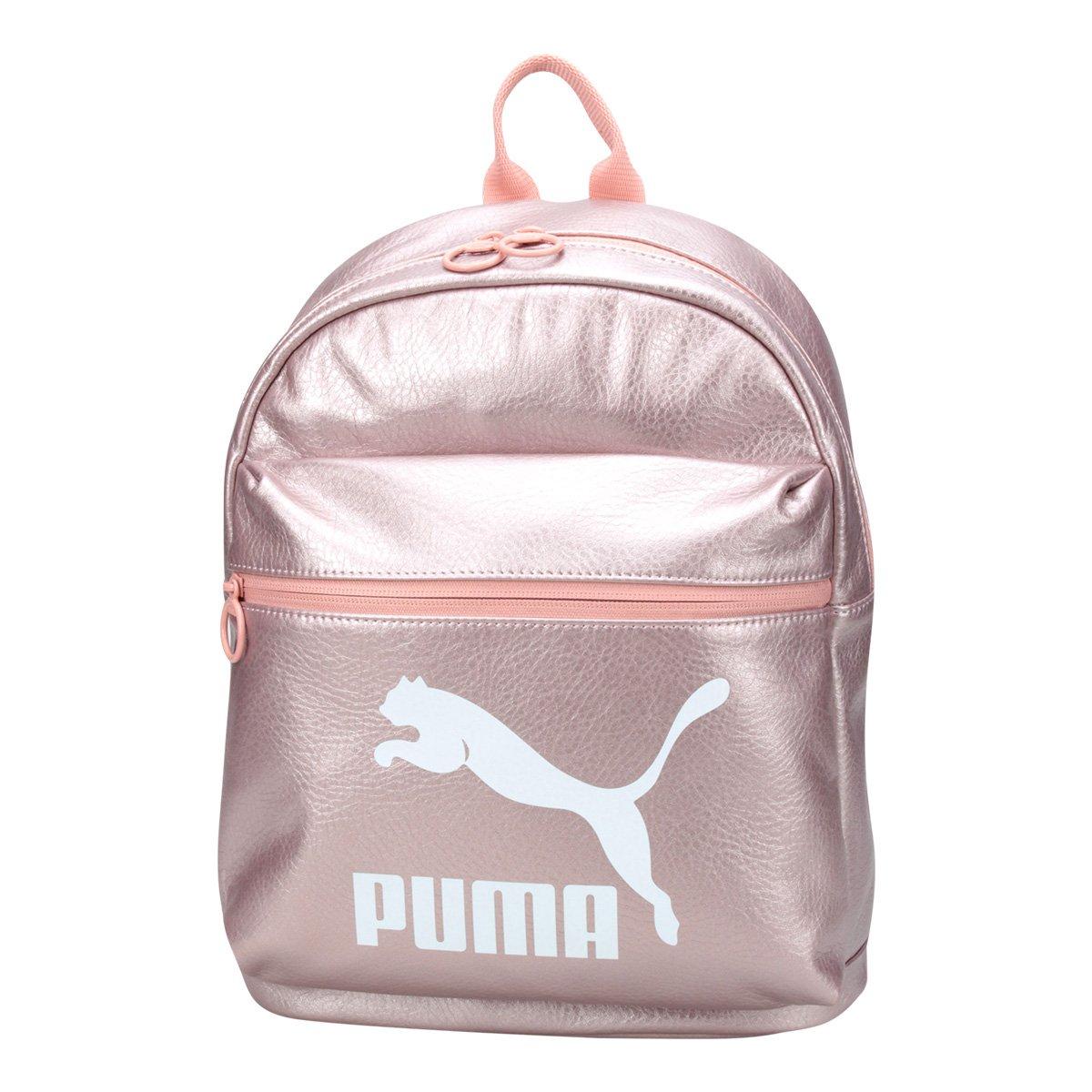 a7f4f8396 Mochila Puma Prime Backpack Metallic Feminina | Livelo -Sua Vida com ...