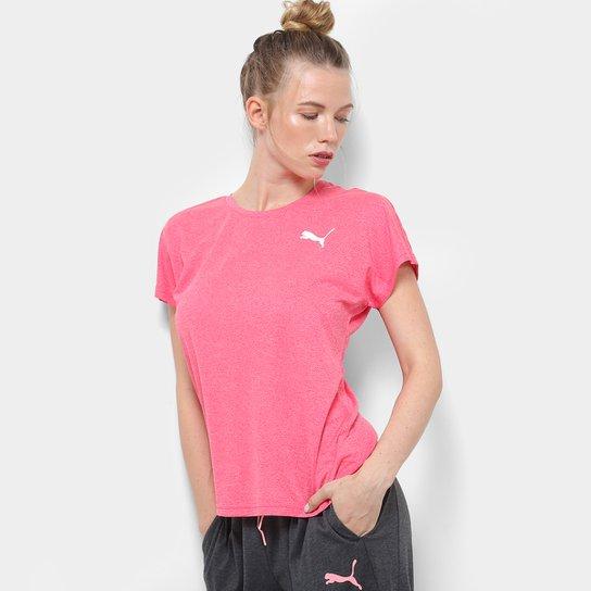 4aca10733e Camiseta Puma Active Essential Mesh Heather Feminina - Compre Agora ...