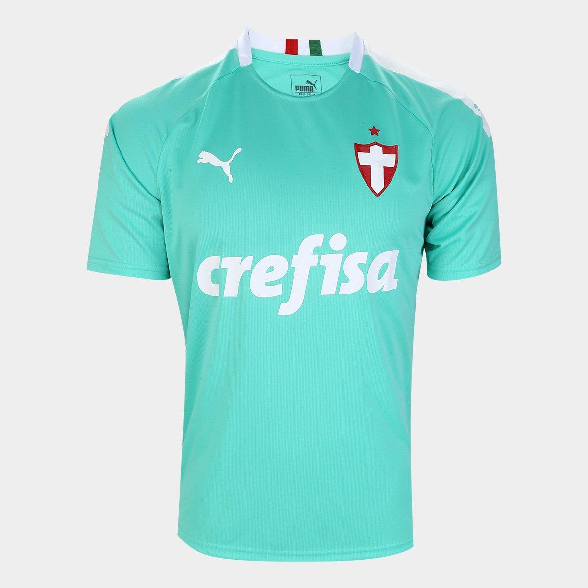 Camisa Palmeiras III 19/20 s/n° - Torcedor Puma Masculina - Tam: G