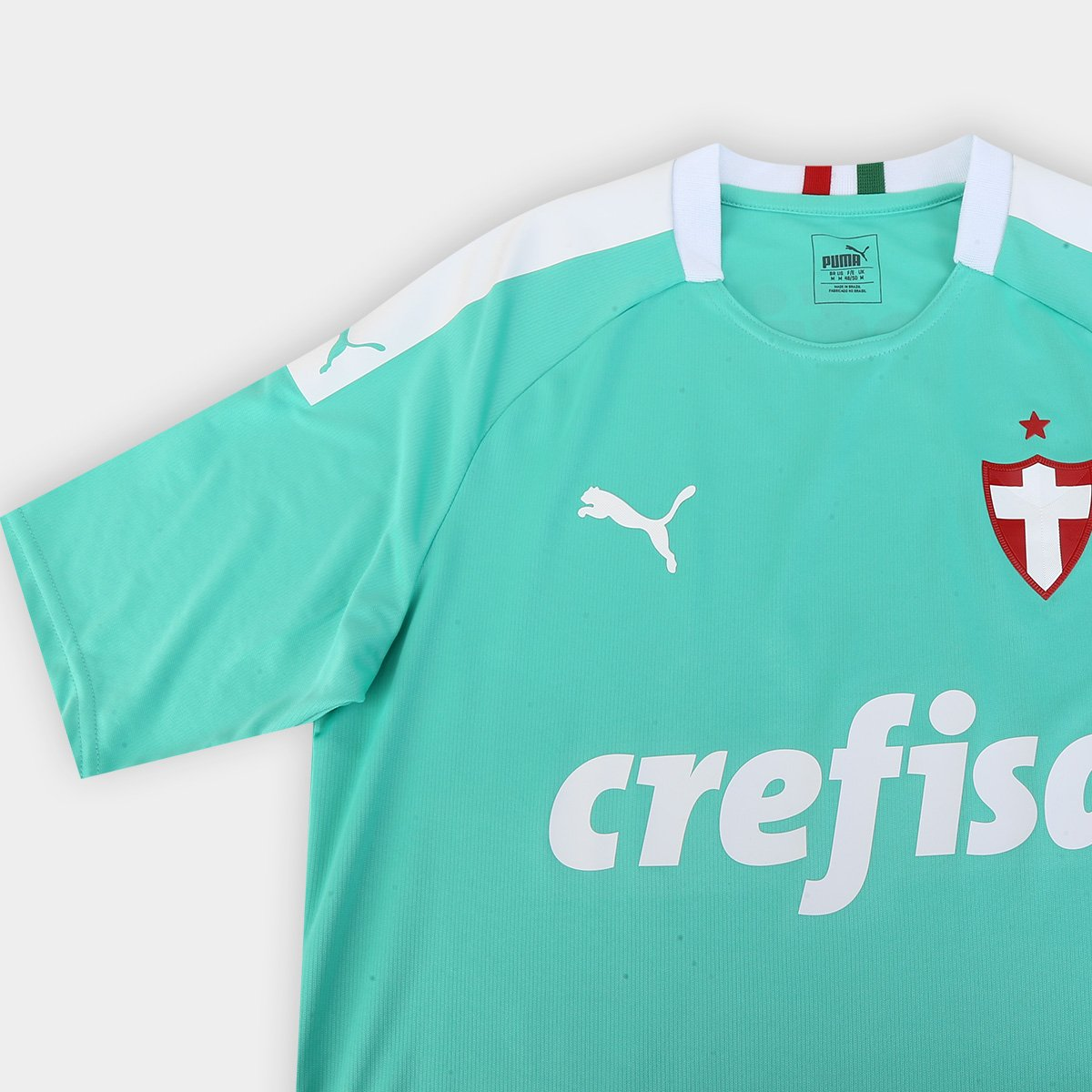 Camisa Palmeiras III 19/20 s/n° - Torcedor Puma Masculina - Tam: G - 3