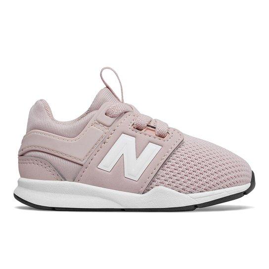 4d8bae99165 Tênis Bebê New Balance 247 Feminino - Rosa - Compre Agora