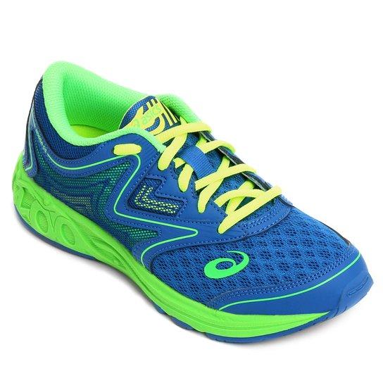 ... Tênis Infantil Asics Gel-Noosa Ff Gs Masculino - Azul+Verde Limão  pretty nice ... c01cb3e130718
