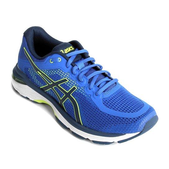 Tênis Asics Gel Pursue 4 Masculino - Azul e Verde - Compre Agora ... 3f23a74d0f6be