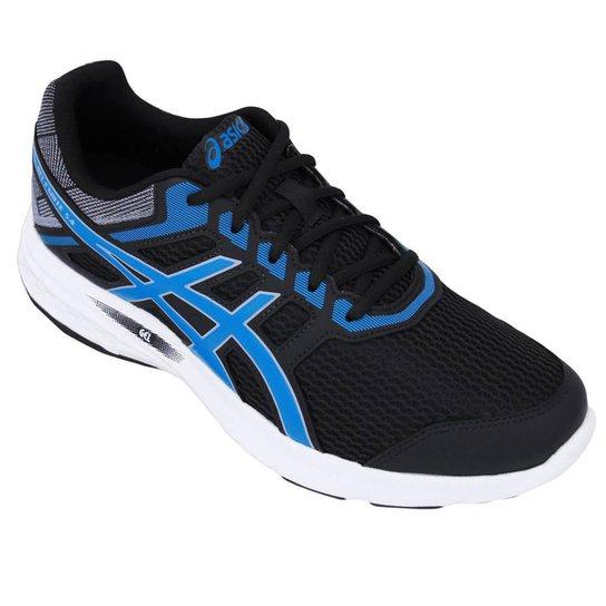 Tênis Asics Gel Excite 5 A Masculino - Preto e Azul - Compre Agora ... f708777ce5058