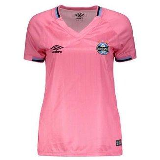 Camisa Umbro Grêmio 2018 Outubro Rosa Feminina 8dd30c9f80a