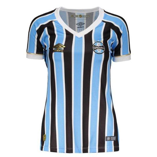 4716567594c8a Camisa Umbro Grêmio Feminino - Preto e Azul - Compre Agora
