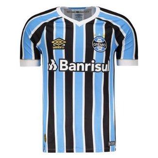 ea0913512c697 Camisa Umbro Grêmio I 2018 N° 7 Masculina
