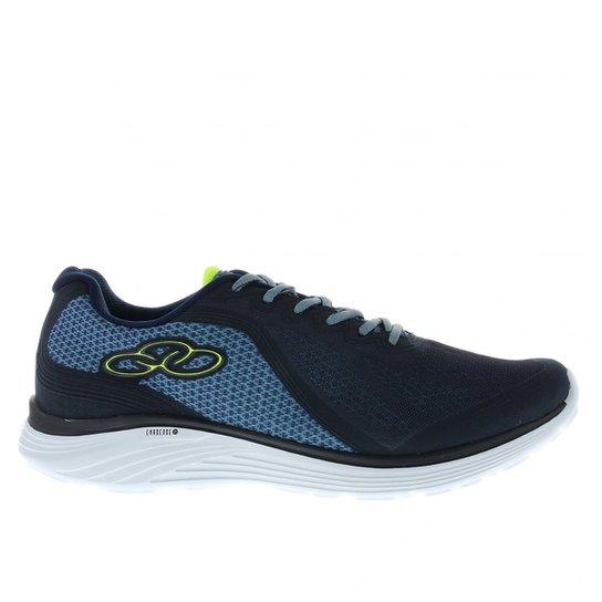 156de27893a Tênis Olympikus Connect  - Azul e Verde - Compre Agora