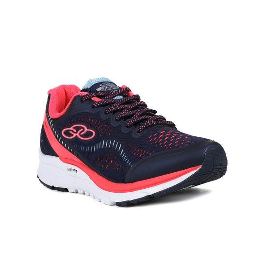 e25a90bd055 Tênis Esportivo Feminino Olympikus Challenger Running - Rosa ...