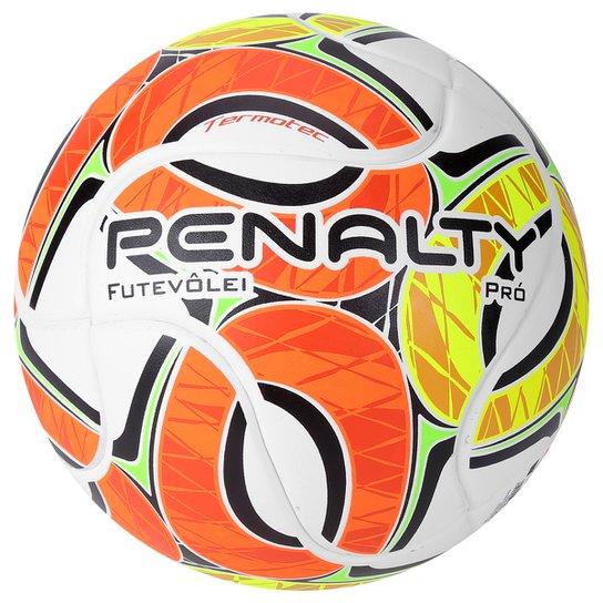 Bola Futebol Penalty Futevolei Pro IV - Branco+Laranja ... bd62d564a67bd