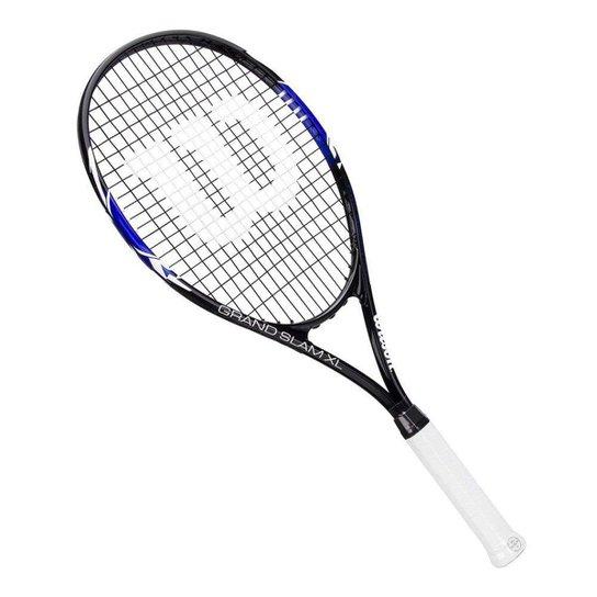 91ec3e611 Raquete Tenis Wilson Grand Slam Xl 2017 - Preto e Azul - Compre ...