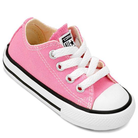 b2a9b3f7e7a Tênis Infantil Converse Chuck Taylor All Star Baby - Rosa - Compre ...