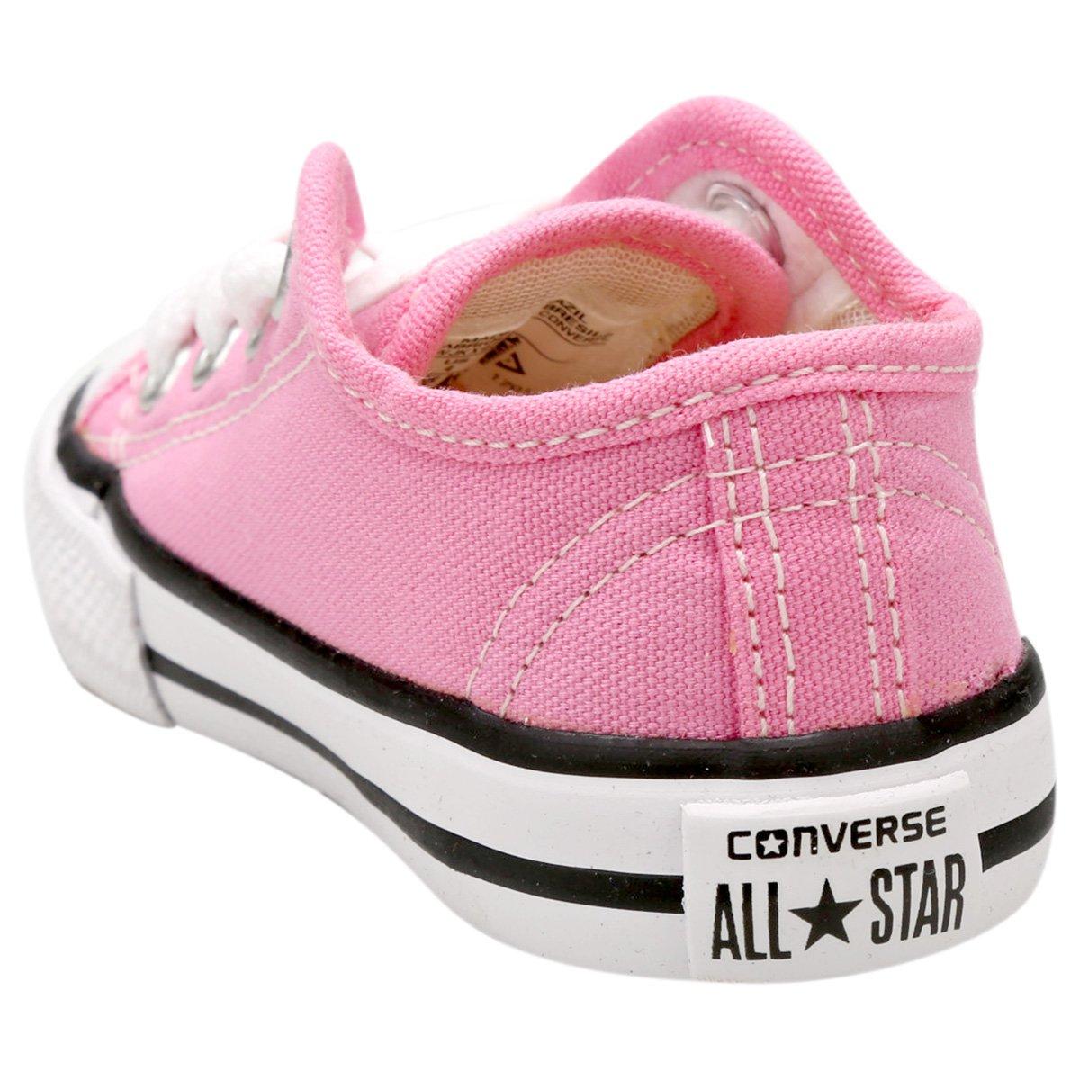 00af2e92554 Tênis Infantil Converse All Star Chuck Taylor Border Baby