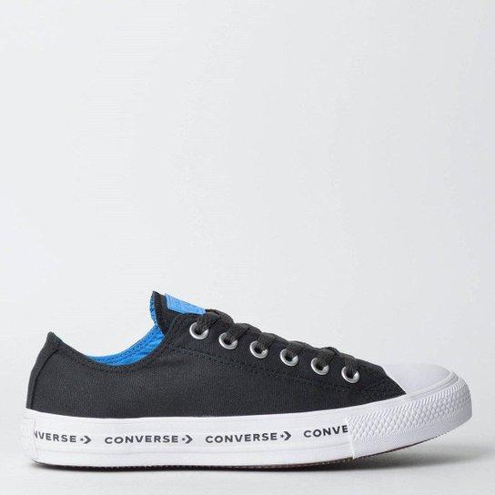 8716b05964 Tênis Converse Chuck Taylor All Star Ox - Preto+Azul