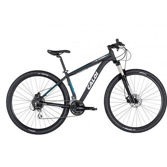 065f10f64 Bicicleta Caloi Explorer 20 Aro 29 Tamanho15 2017 - Preto e Azul ...