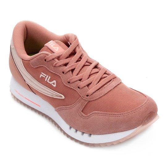 5ec64bdb8f3 Tenis Fila Euro Jogger Sport Ss Feminino - Rosê - Compre Agora ...