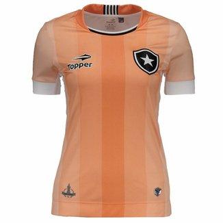 Compre Camisa Feminina do Botafogo Online  6bf5c5c614a59
