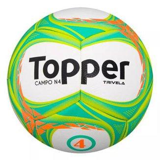 Bola de Futebol Topper Campo Trivela V Nº4 496e43d245074