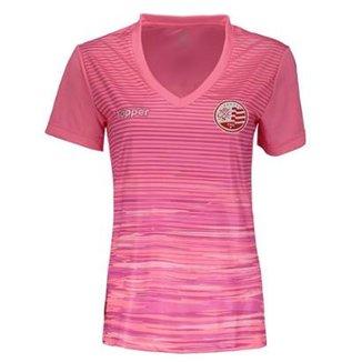Camisa Topper Nautico 2018 Outubro Rosa Feminina 420133d51a440