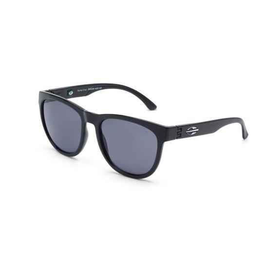 6e729bd1d776a Oculos Sol Mormaii Santa Cruz - Preto e Azul - Compre Agora