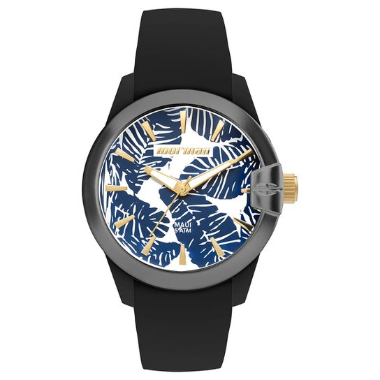 55bee654fdb Relógio Mormaii Analógico MO2035IN-8D Feminino - Preto e Azul ...