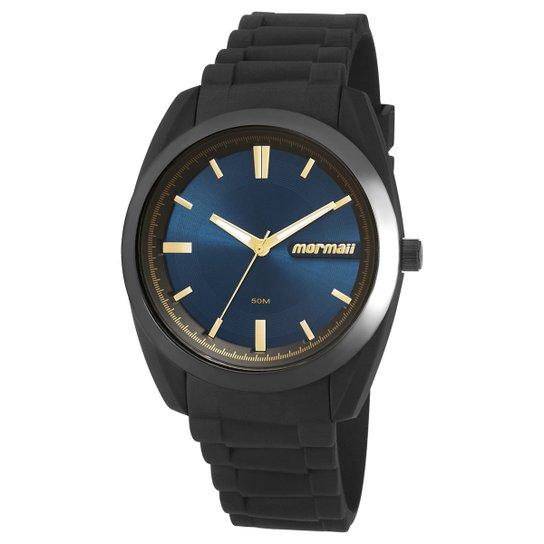 db569db04d0 Relógio Analógico Mormaii Mo2039Ac-8A Feminino - Preto e Azul ...