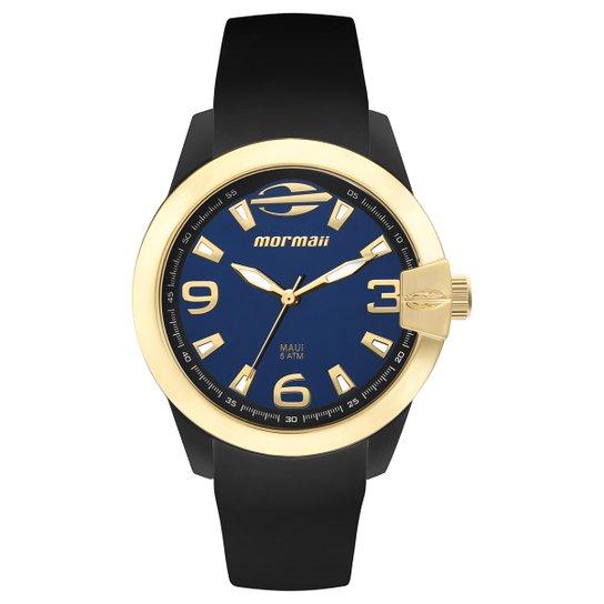 c2eabae9ea1 Relógio Mormaii Analógico Mo2035Iu-8A Feminino - Preto e Azul ...