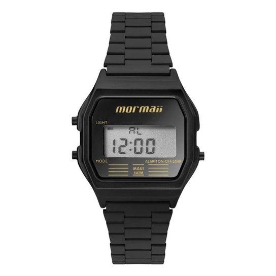 2f8847d2193 Relógio Digital Mormaii Vintage Mojh02Aj 4P - Preto e Azul - Compre ...
