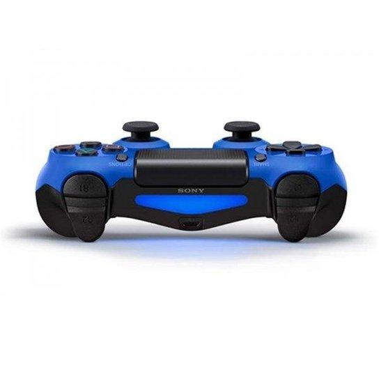 4f60870a226f4 Controle PS4 Original (Dualshock 4) - Azul - Compre Agora