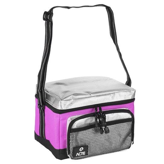 47248afb0 Bolsa Térmica Lunch Box Cau Saad Rosa - Acte Sports - P | Netshoes