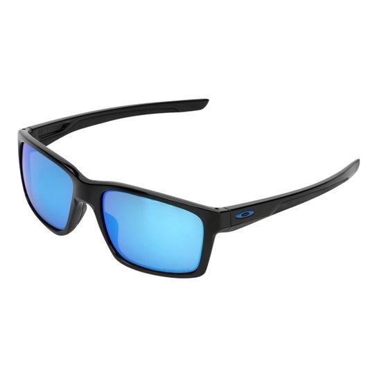 5192f1688 Óculos de Sol Oakley Mainlink Masculino - Preto e Azul | Netshoes