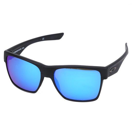 a4977df082 Óculos Oakley Two Face Xl - Preto e Azul | Netshoes