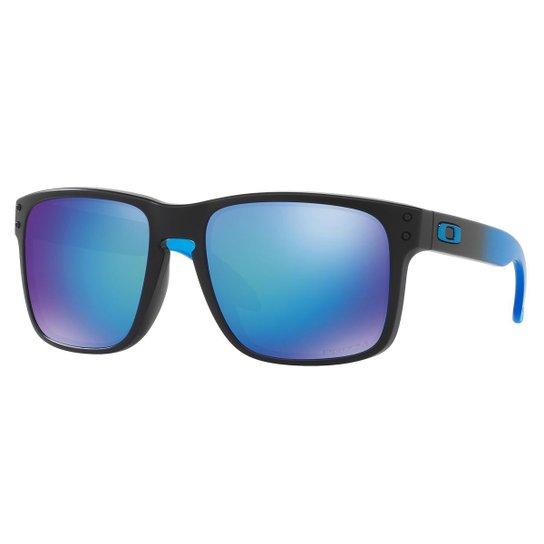 Óculos Oakley Holbrook Sapphire Fade Prizm - Compre Agora   Netshoes d156b57bf5