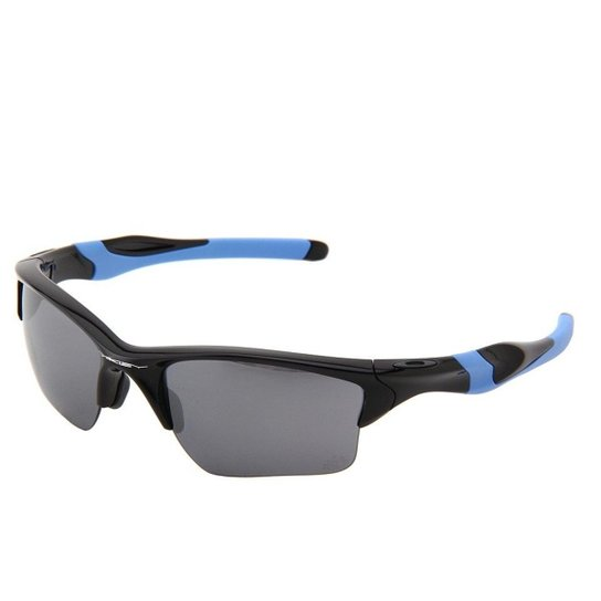 9a2b9feed Óculos Oakley Half Jacket II Xl Tour de France - Preto+Azul
