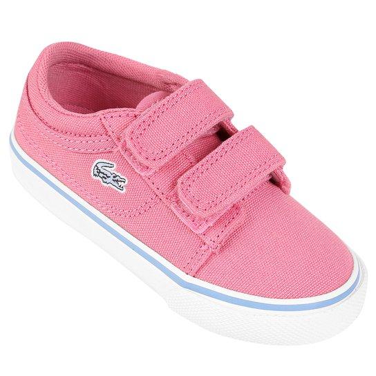 Tênis Lacoste Vaultstar Ppg Infantil - Rosa e Branco - Compre Agora ... 68dc003371