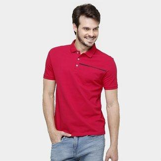 f14c54d5db Camisa Polo Calvin Klein Piquet Básica