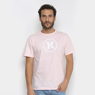 659e6f53b6960 Camiseta Hurley Silk Circle Icon Masculina